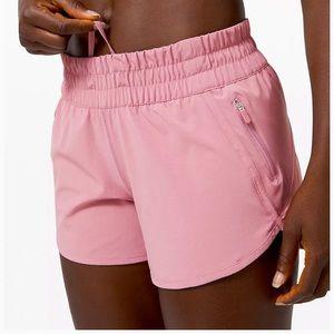 """Lululemon Tracker Short V 4"""" * Pink Taupe"""
